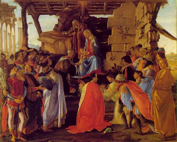 adoration of the magi uffizi florence