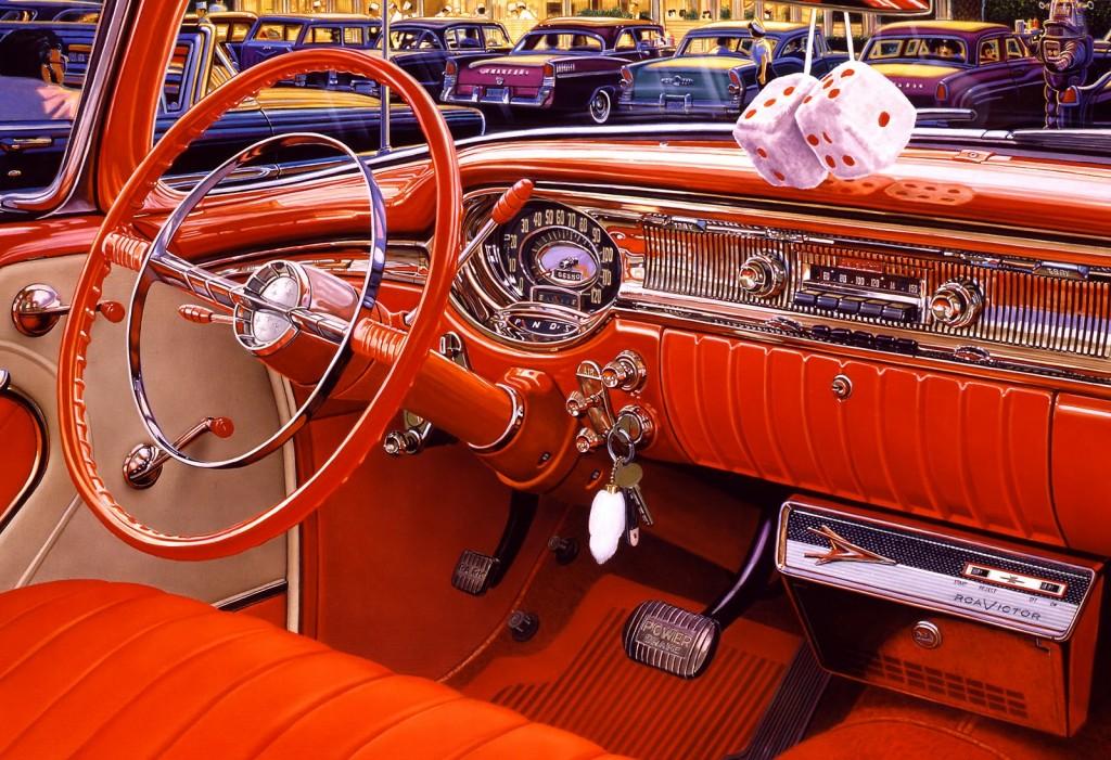 hyper realism car int