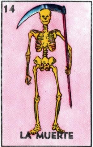 muerte card
