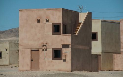 Fort Irwin, US Army National Training Center, Mojave Desert, CA.