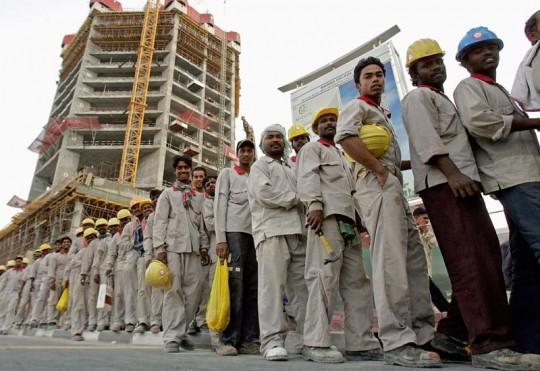 Workers, UAE, 2012