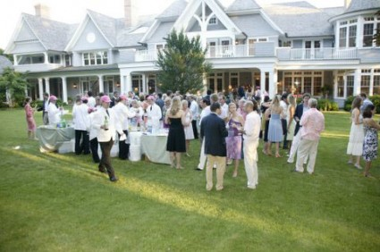 Summer party, Southampton, Robin Pickett's mansion 2013