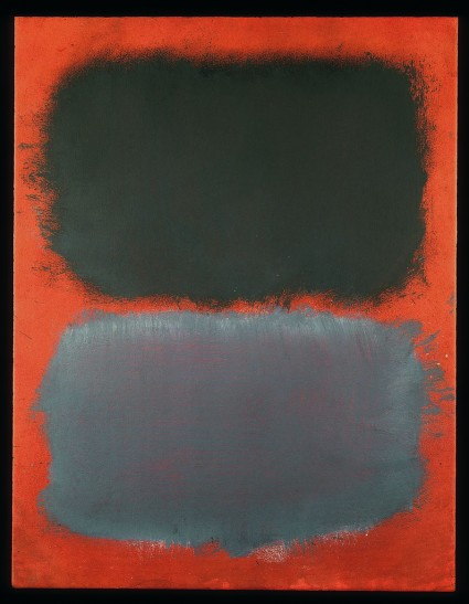 rothko browns green grey