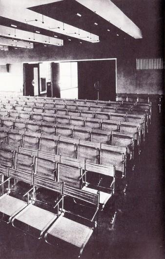 Bauhaus theatre, designed by Walter Gropius