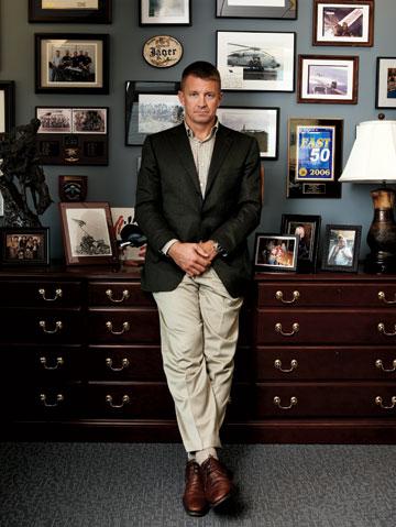 Erik Prince, founder of Blackwater Security