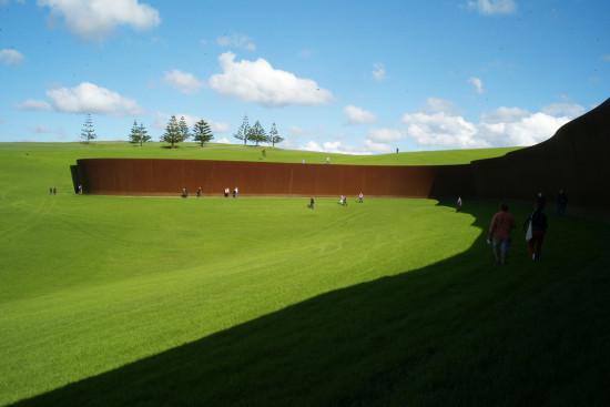 Richard Serra,  Te Tuhirangi Contour
