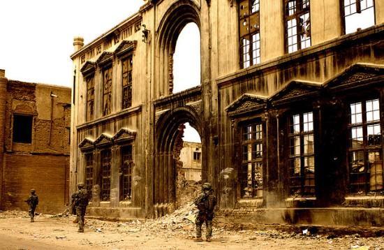 U.S. soldiers in Baghdad