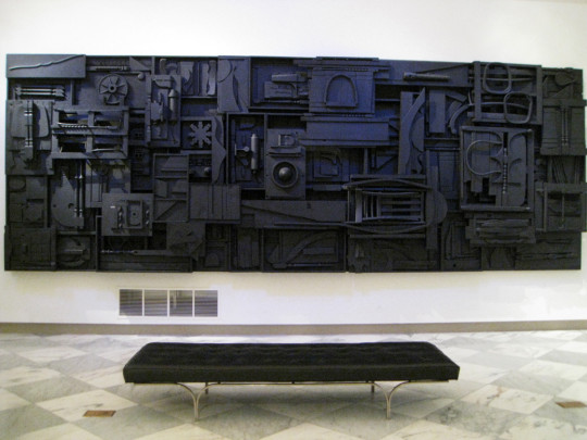 Louise Nevelson, at The Smithsonian