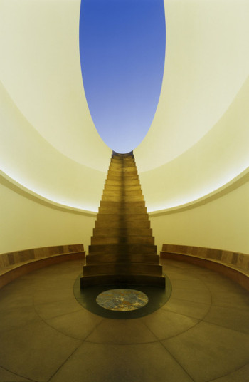 Interior, Roden Crater, James Turrell