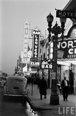 Las Vegas, 1942