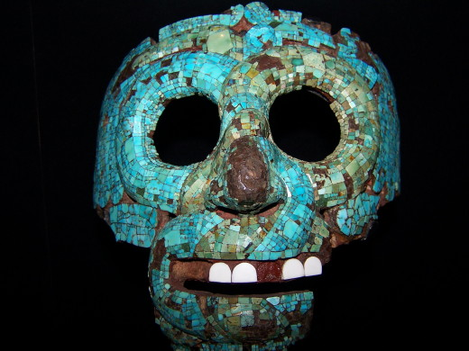 Aztec mask, Central America