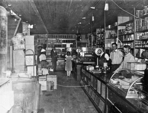 Eatonville Lumber Company Store, 1916