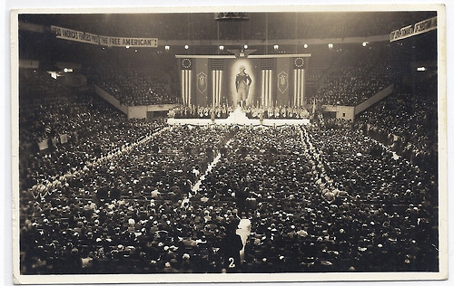 American Nazi Party rally, 1939 (German American Bund)