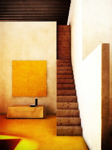 Studio, Luis Barragan, architect. Mexico City, 1948