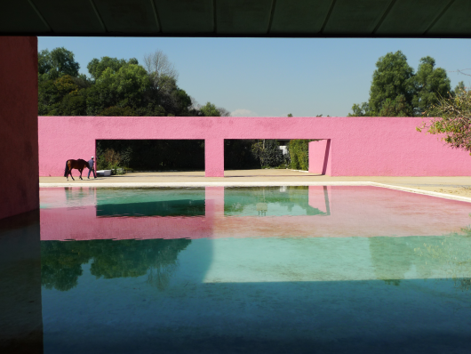 Cuadra San Cristobal, Luis Barragan architect, 1966