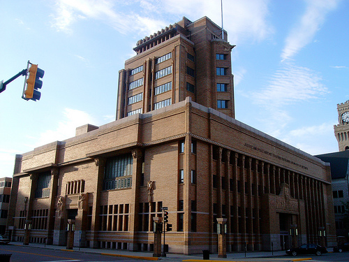 Woodbury County Courthouse, Sioux City IA. George Elmslie architect, 1918