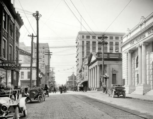 Forsyth Street, Jacksonville Florida, 1910