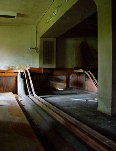 Bowling Alley, Hewitt State Hospital (closed), Philadelphia (Opacity)