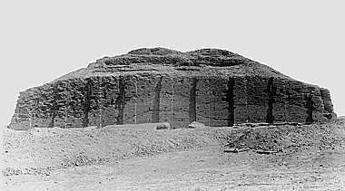 Ziggurat of Ur, Iraq. 2000 B.C.