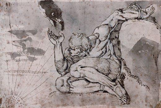 Henry Fuseli, Prometheus, 1770
