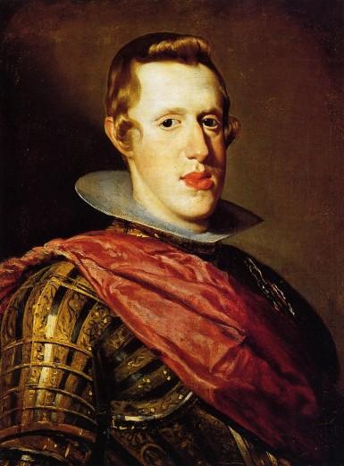 Diego Velasquez, portrait of Felipe IV.