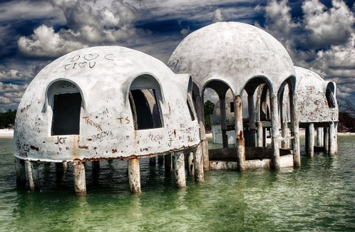 Abandoned Southwest Florida resort. Mila Bridger photography.