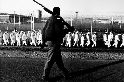 Andrew Holbrooke, photography. Limestone Correctional, Alabama, 1995.