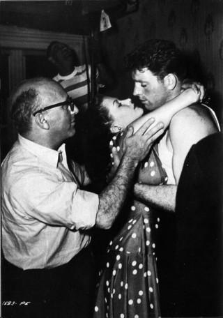 Robert Siodmak, directing Criss Cross, 1949.