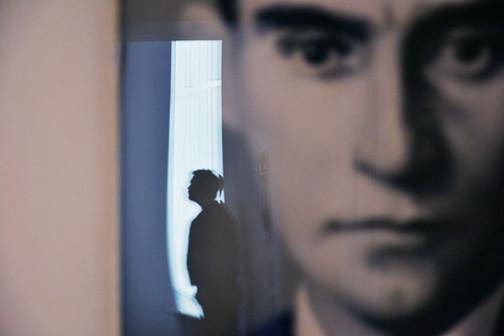 """Gerhard Richter, """"Kafka""""."""