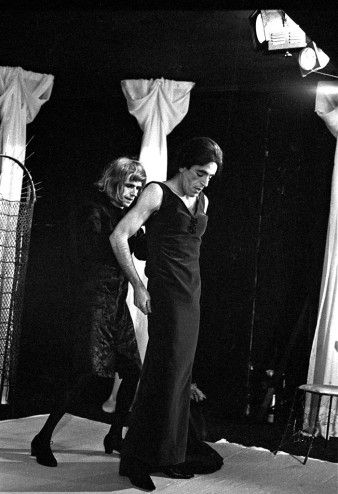 The Maids, By Jean Genet. (Living Theatre, 1965) photo by Mark Anstendig.