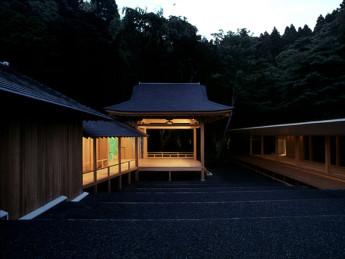 Noh stage, Miyagi Japan.