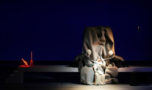Faust the opera, set design Rolf Sachs, Staatstheatre Wiesbaden 2007
