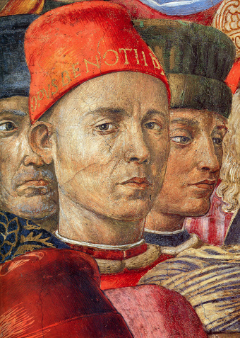 Benozzo Gozzoli, 'Journey of the Magi' detail 1459