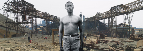 "Sammy Baloji, photography. ""Série Mémoire"" (2006), Lubumbashi."