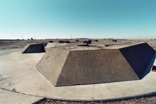 Titan missile silos, decommissioned. Location undisclosed. US midwest.