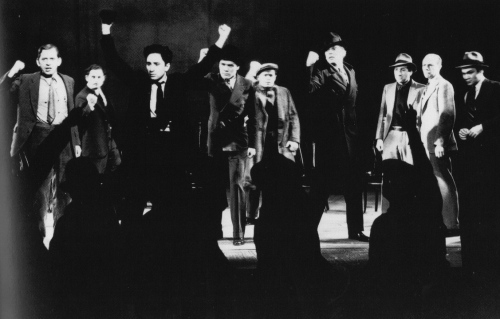 Waiting for Lefty (1935), by Clifford Odets. Group Theatre.