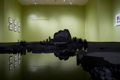 """Lauren Fensterstock; """"Black Garden""""."""