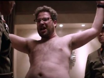 """Seth Rogan in """"The Interview"""" (2014)."""
