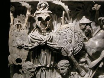 Sarcofago dio portonaccio, Rome, detail.