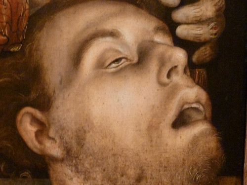 Hans Cranach, early 1500s. St Boniface, detail.