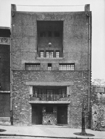 Tristan Tzara house, Paris. Adolf Loos architect. 1925