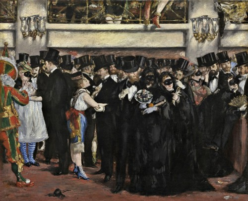 Edouard Manet, Masked Ball at the Opera, 1873.