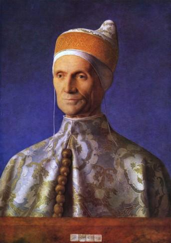 "Giovanni Bellini, ""Portrait of Doge Leonardo Loredan "", 1501."