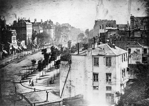 Girault de Prangey, photography. Rue Guillemin, Paris 1865. Later torn down.