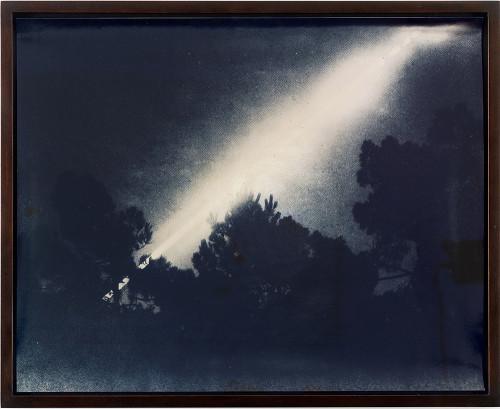 Lisa Oppenheim, photography. (long exposure).