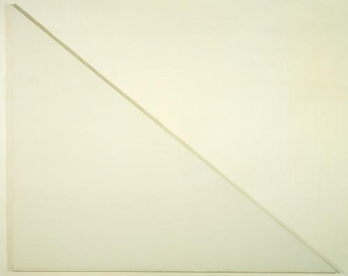 Barnett Newman. 1970. (unfinished)