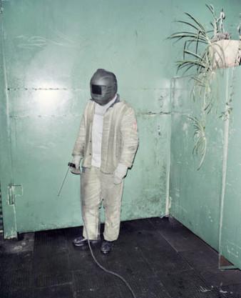 """Rafal Milach, photography. """"Winner; best welder in Belarus & Russia""""."""