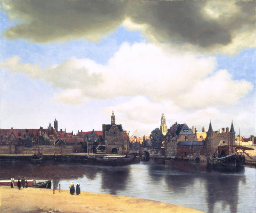 Johannes Vermeer, 'View on Delft'. 1660.