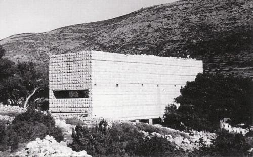 """Nikola Dubrovik, architect. """"Dom Ferijalnog saveza"""". Croatia 1938."""
