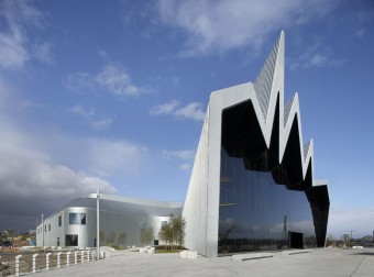 Riverside Museum, Glasgow. Zahia Hadid, architect.